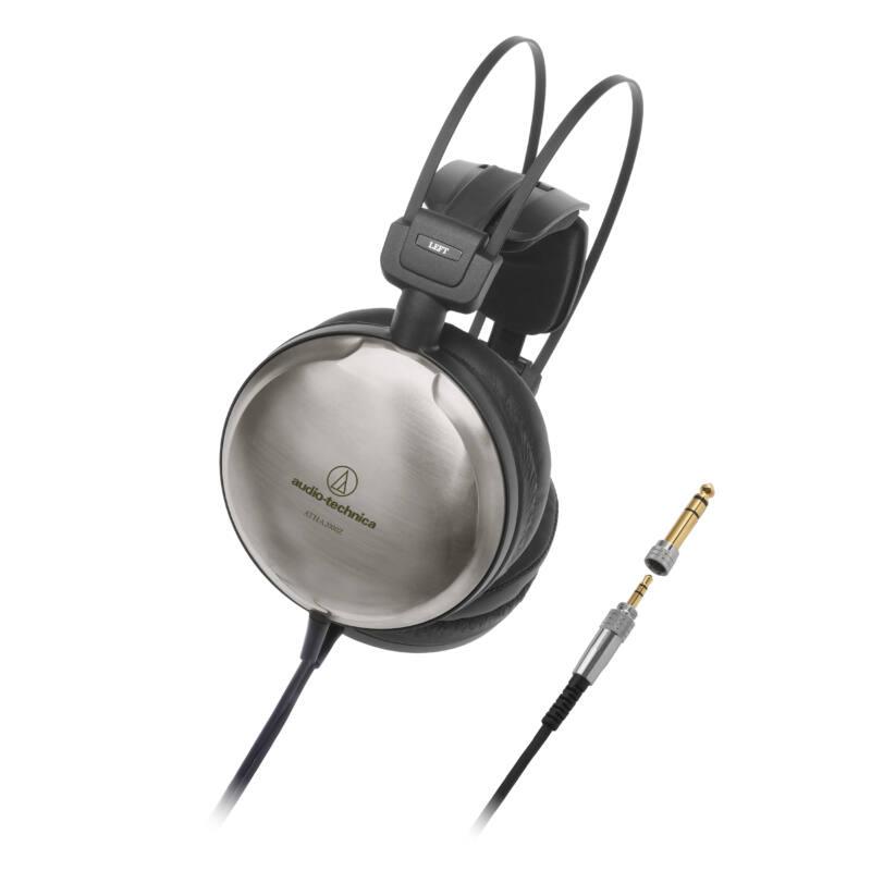 Audio-Technica ATH-A2000Z ART Monitor zárt hifi fejhallgató Hi-Res Audio , fekete