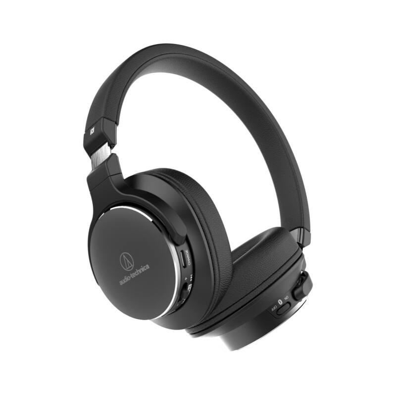 Audio-technica ATH-SR5BT Bluetooth fejhallgató , fekete