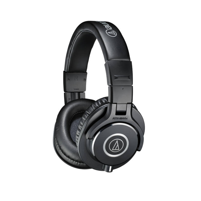 Audio-Technica ATH-M40X fejhallgató, fekete (Bemutató darab)