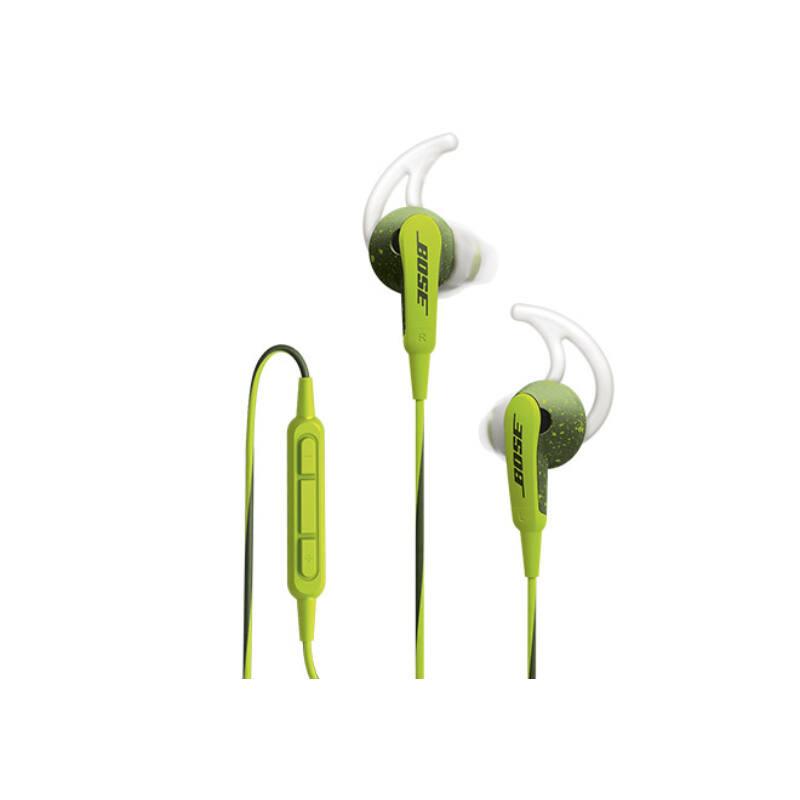 Bose SoundSport In-Ear zöld fülhallgató Apple kompbatibilis