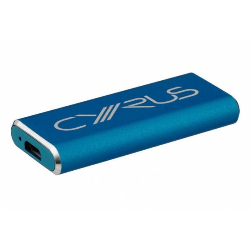 Cyrus Soundkey fejhallgató erősítő, kék
