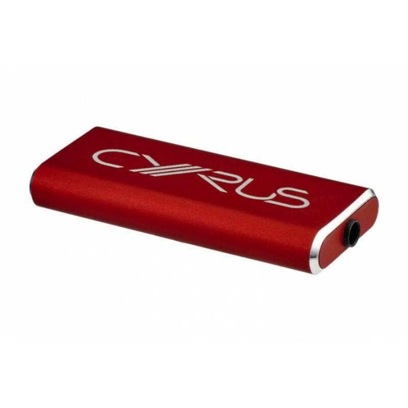 Cyrus Soundkey fejhallgató erősítő, piros