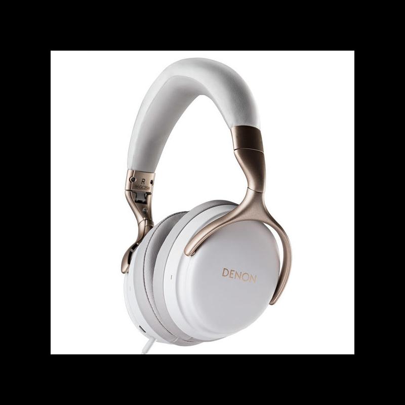 Denon AH-GC25W fejhallgató, fehér