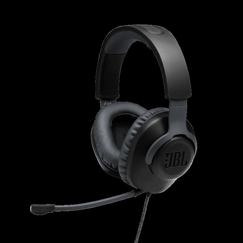 JBL Quantum 100  Gamer fejhallgató, fekete (csomagolás sérült)