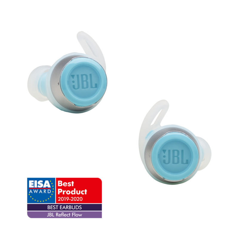 JBL Reflect Flow True Wireless sportfülhallgató, világos kék (Bemutató darab)