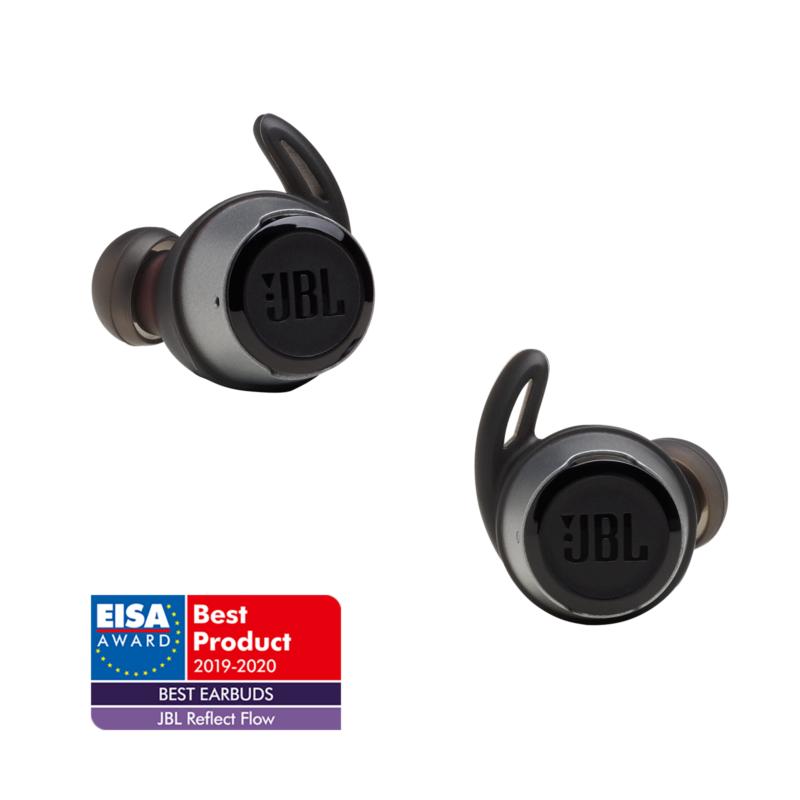 JBL Reflect Flow True Wireless sportfülhallgató, fekete (Bemutató darab)