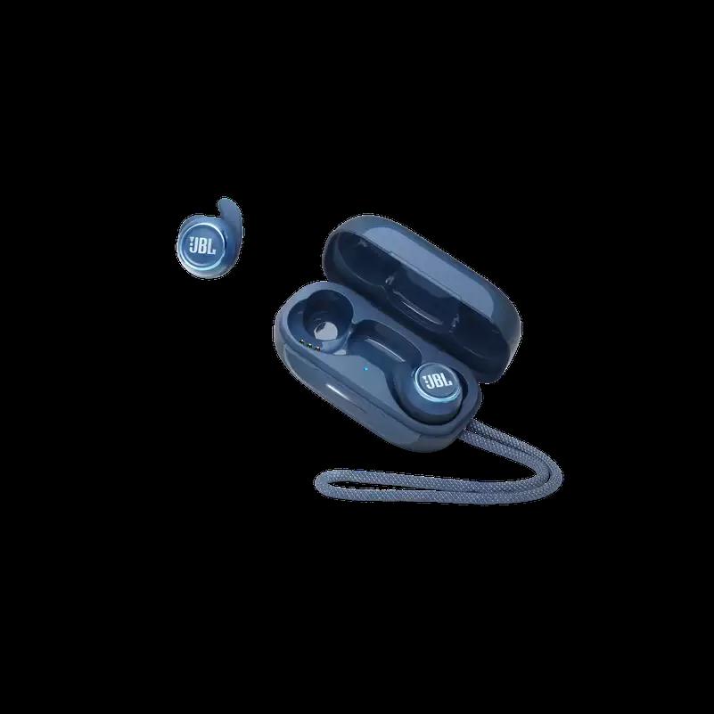 JBL Reflect Mini NC True Wireless fülhallgató, kék + JBL szövetmaszk