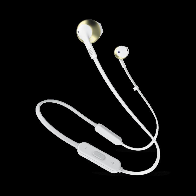 JBL T205BT fülhallgató, arany