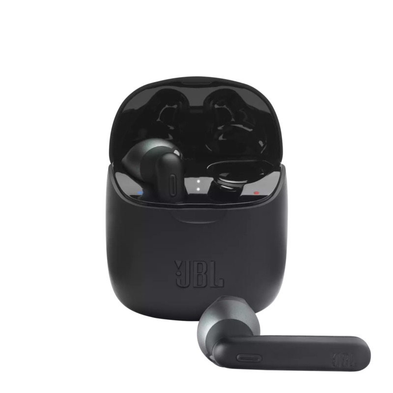 JBL TUNE 225TWS True Wireless fülhallgató, fekete + JBL szövetmaszk