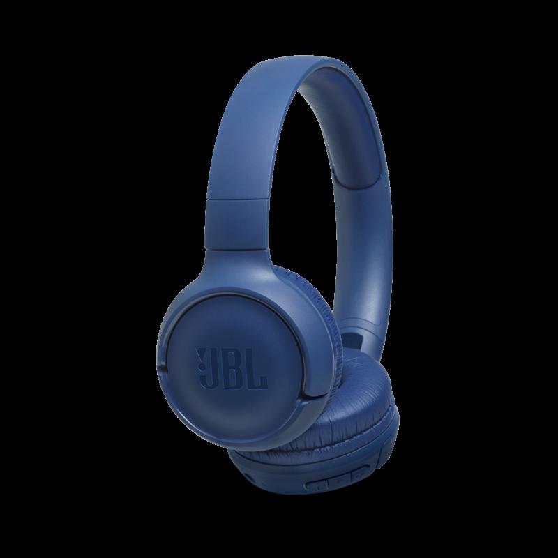 JBL T500BT bluetooth-os fejhallgató, kék (Bemutató darab)