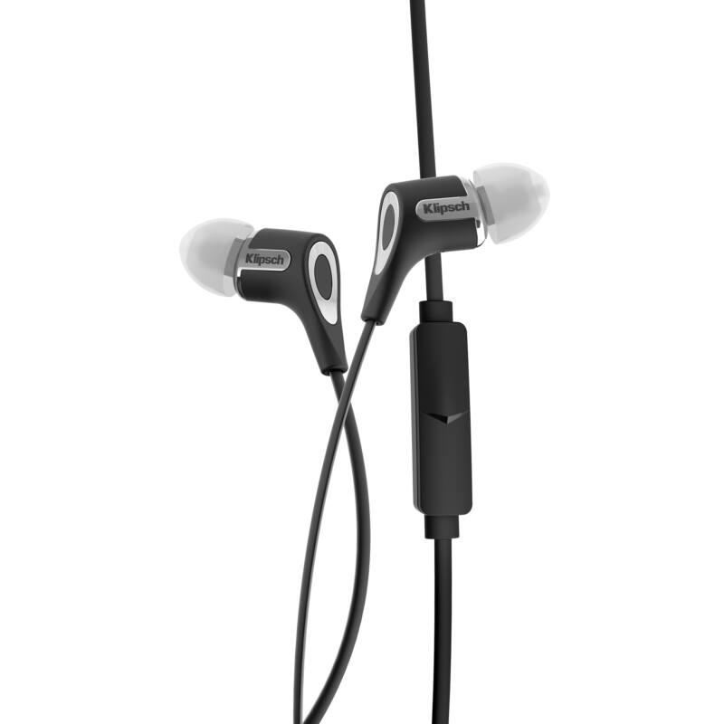 Klipsch R6M Fülhallgató Fekete
