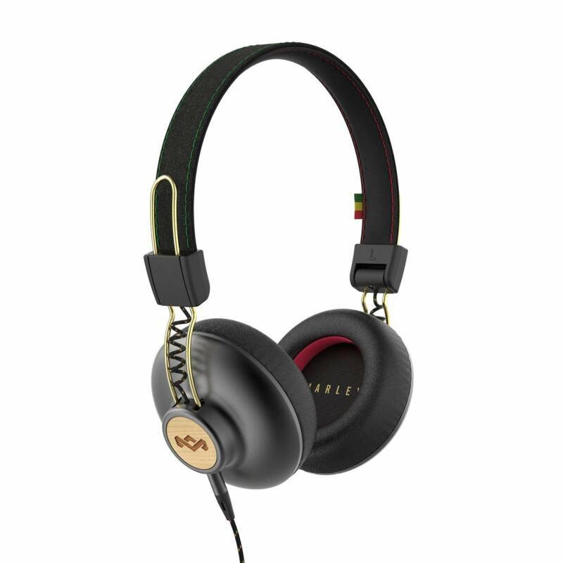 Marley Positive Vibration 2 fejhallgató, rasta (EM-JH121-RA)