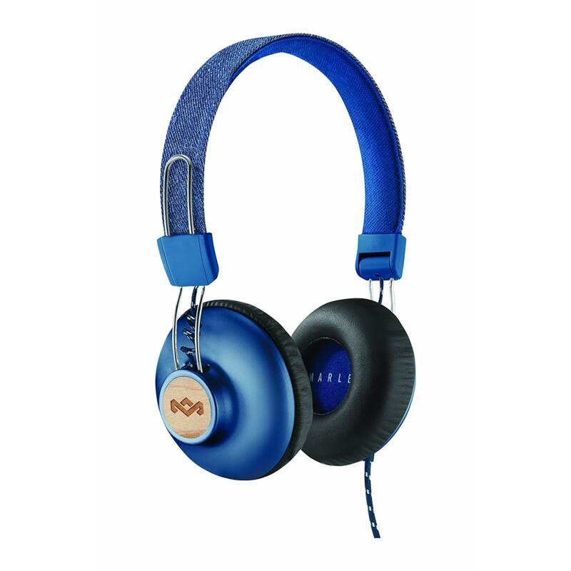 Marley Positive Vibration 2 fejhallgató, denim (EM-JH121-DN) (Bemutató darab)