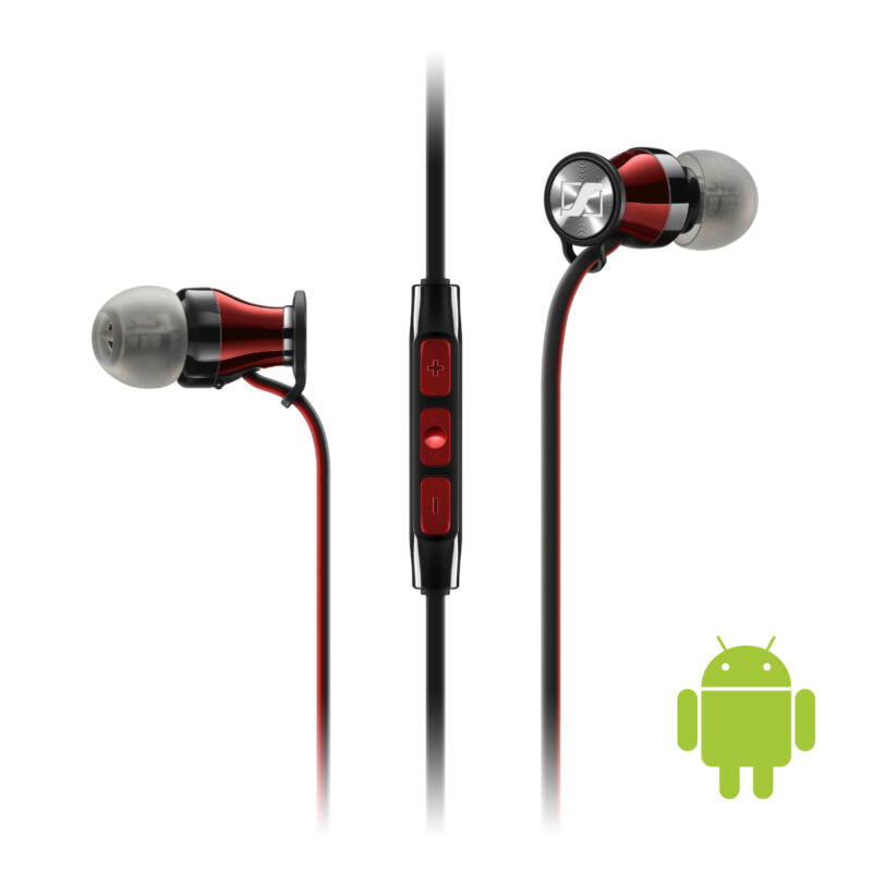 Sennheiser Momentum In-Ear fülhallgató Android (M2 IEG), red