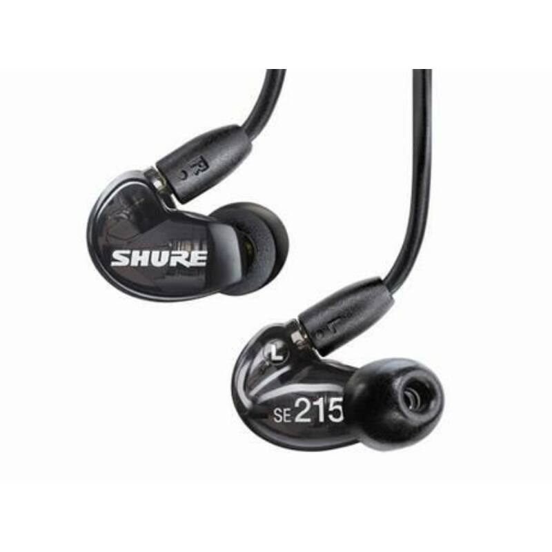 Shure SE215-K UNI Sound Isolating fülhallgató, fekete