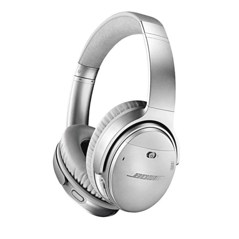 Bose QuietComfort 35 II aktív zajszűrős, bluetooth-os fejhallgató, ezüst