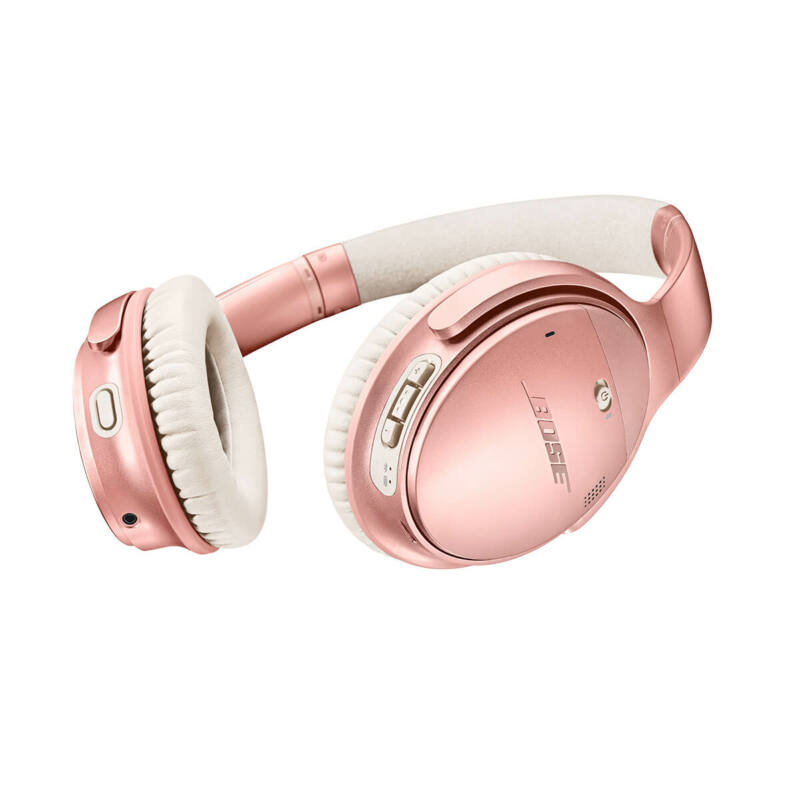 Bose QuietComfort 35 II aktív zajszűrős, bluetooth-os fejhallgató Limited Edition, rose gold