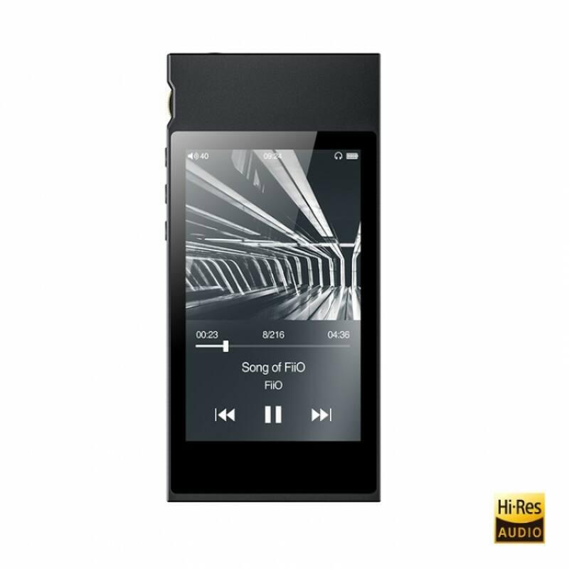 FIIO M7 lejátszó FM rádióval, fekete