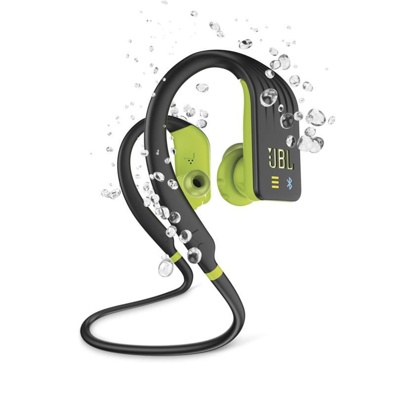 JBL Endurance DIVE lime, vízálló bluetooth fülhallgató beépített lejátszóval (Bemutató darab)
