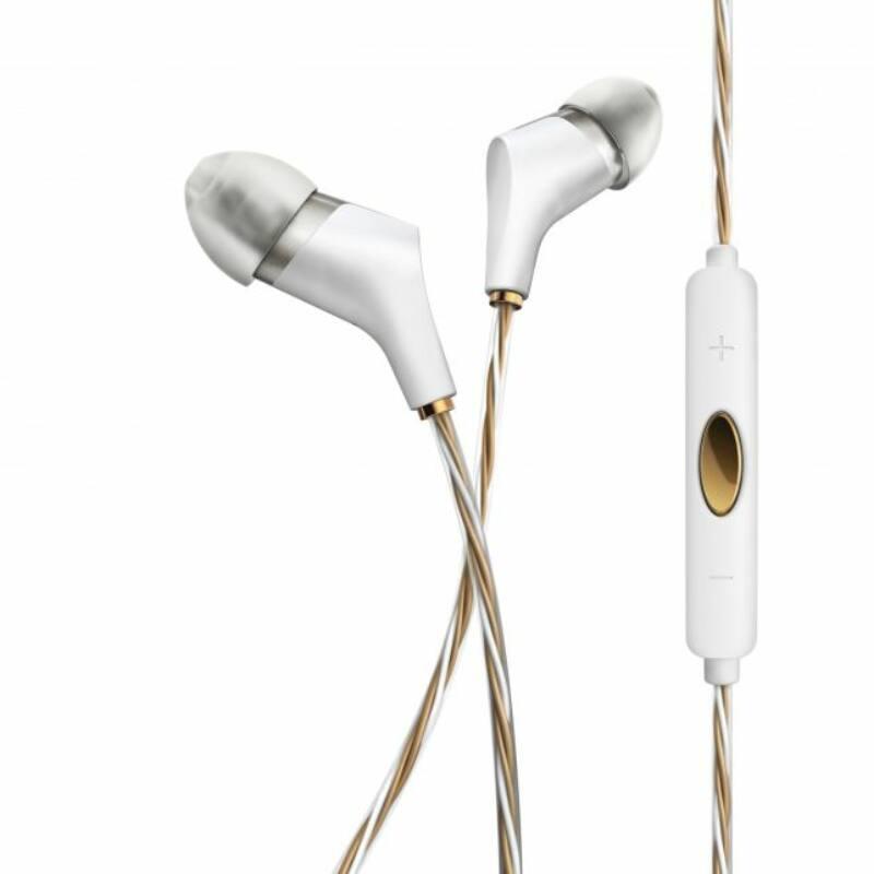 Klipsch X6i referencia fülhallgató, fehér iOS