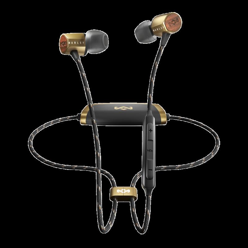 Marley Uplift 2 wireless fülhallgató, sárgaréz (EM-JE103-BA) (Bemutató darab)