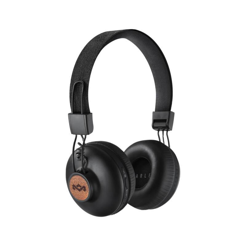 Marley Positive Vibration 2 (EM-JH133-SB) Bluetooth fejhallgató, fekete (Bemutató darab)