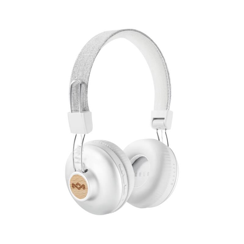 Marley Positive Vibration 2 (EM-JH133-SV) Bluetooth fejhallgató, ezüst (Bemutató darab)