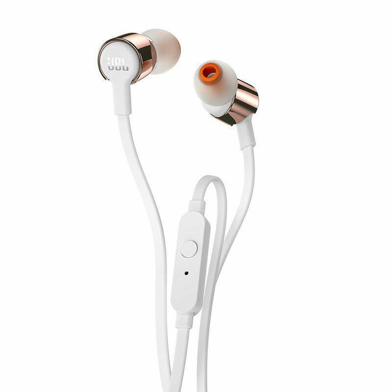 JBL T210 fülhallgató, Rose Gold (Csomagolássérült termék!)
