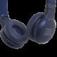 JBL Live 400BT Bluetooth fejhallgató, kék