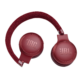 JBL Live 400BT Bluetooth fejhallgató, piros
