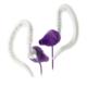 Yurbuds Focus 100 for women sport fülhallgató, lila/fehér