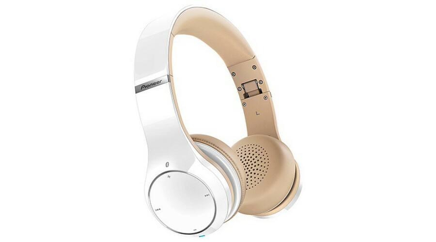PioneerSE MJ 771BT-K Bluetooth fejhallgató fehér bézs cef5564950