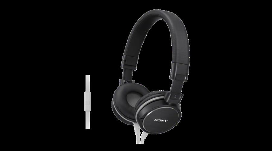 Sony MDR-ZX610AP fekete fejhallgató - Fejhallgatópláza webáruház e4b862348c