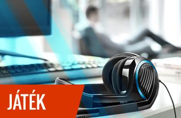 Gamer fejhallgatók mikrofonnal, PC-hez, konzolhoz