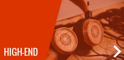 High-end fejhallgatók, erősítők
